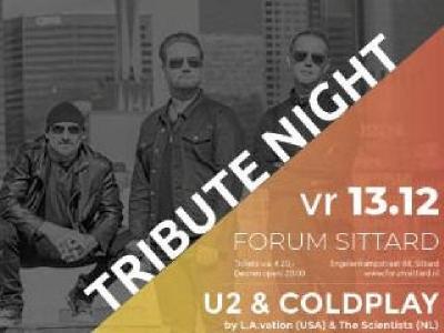 Tribute Night Coldplay & U2 in Forum te Sittard